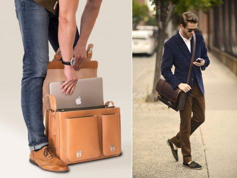 Thân hình vạm vỡ, cao to nên chọn túi xách nam nào thì hợp?
