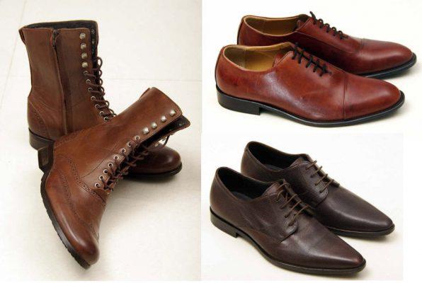 phân biệt giày da nam