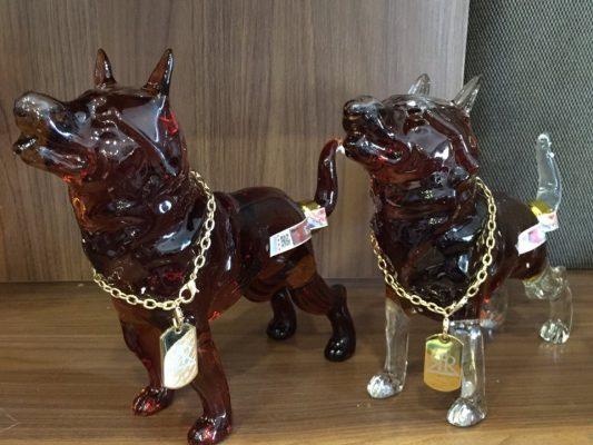rượu hình chó của Nga