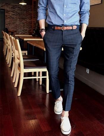 Biết cách chọn thắt lưng da phù hợp với giày vải