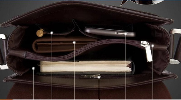 Chọn túi nhiều ngăn nếu bạn muốn chứa nhiều đồ