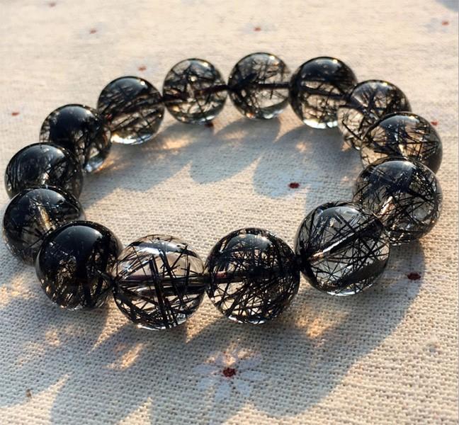 vòng tay phong thủy tóc đen